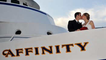 Affinity Yacht Wedding Photos, Chelsea Piers, NYC