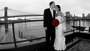 Wedding Photography at Bridgewaters, South Street Seaport NYC
