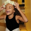 Millenium Hotel - Flower Girl Laughing with Headband
