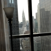 Millenium Hotel - view of Chrysler Building from Groom's Room