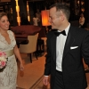 First Look, Bride and Groom, Carlton Hotel NYC Lobby