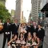 Flat Iron Building Bridal Party Photo