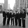 Groomsmen with Groom in Fifth Avenue