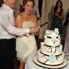 Alex and Toni Cake Cutting