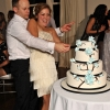Alex and Toni Cutting the Cake