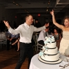 Alex and Toni after Cake Cutting