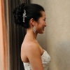 Bride's Hairclip, Side View